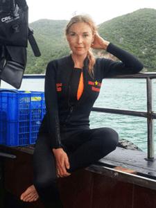 Alena дайвинг во Вьетнаме
